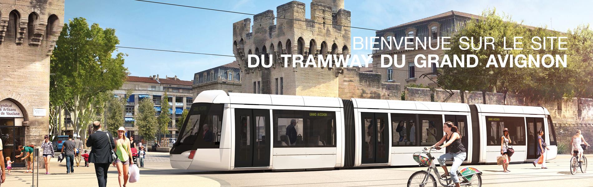 Tram du grand avignon le tram du grand avignon - Ligne bus avignon ...